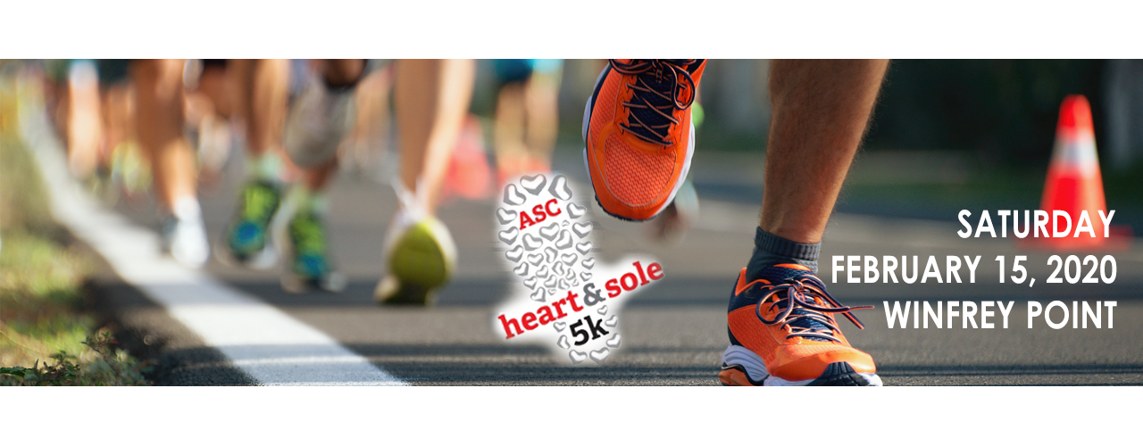 Heart and Sole 5K @ Winfry Point
